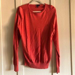 J. Crew Coral/Orange Sweater - Large - 🚭